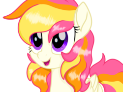Size: 2732x2048 | Tagged: safe, artist:prismaticstars, oc, oc:sunkist, pegasus, pony, female, high res, mare, movie accurate, simple background, solo, transparent background