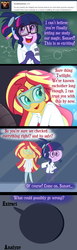 Size: 591x1920 | Tagged: artist:wubcakeva, comic, comic:ask casual midnight and demon shimmer, equestria girls, for science, safe, sci-twi, sunset shimmer, tempting fate, twilight sparkle