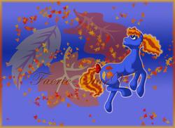 Size: 7019x5100   Tagged: safe, artist:faerie-starv, autumn skye, pony, g3, absurd resolution, female, solo