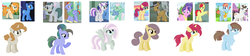 Size: 1024x230 | Tagged: safe, artist:leanne264, bow hothoof, bright mac, cloudy quartz, cookie crumbles, gentle breeze, hondo flanks, igneous rock pie, night light, pear butter, posey shy, twilight velvet, windy whistles, oc, earth pony, pegasus, pony, unicorn, alternate mane six, alternate timeline, alternate universe, base used, female, infidelity, male, mare, offspring, parent swap au, parent:bow hothoof, parent:bright mac, parent:cloudy quartz, parent:cookie crumbles, parent:gentle breeze, parent:hondo flanks, parent:igneous rock, parent:night light, parent:pear butter, parent:posey shy, parent:twilight velvet, parent:windy whistles, parents:pearlight, parents:velvetbreeze, parents:windyflanks, pearlight, shipping, simple background, stallion, straight, velvetbreeze, white background, windyflanks