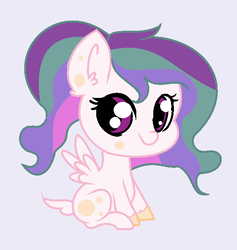 Size: 586x618 | Tagged: safe, artist:mlp-awesomebases, oc, hybrid, my little pony: the movie, interspecies offspring, magical lesbian spawn, offspring, parent:princess celestia, parent:queen novo, parents:novolestia, solo