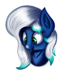 Size: 1909x1991 | Tagged: safe, artist:qbellas, oc, oc only, pony, female, mare, simple background, snow, snowflake, solo, transparent background