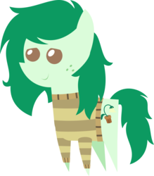 Size: 1236x1408 | Tagged: safe, artist:sketchmcreations, wallflower blush, earth pony, pony, equestria girls, equestria girls series, forgotten friendship, clothes, equestria girls ponified, female, inkscape, pointy ponies, ponified, simple background, solo, sweater, transparent background, vector