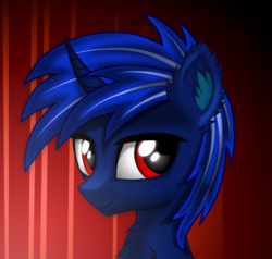 Size: 2099x2000 | Tagged: artist:maxiclouds, bust, fluffy, male, oc, pony, portrait, safe, solo, stallion, unicorn, vector