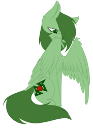Size: 2925x4000 | Tagged: artist:mimihappy99, commission, cute, male, oc, oc only, pegasus, pony, preening, safe, simple background, solo, transparent background