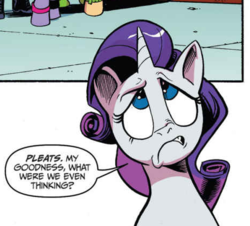 Size: 464x420 | Tagged: safe, artist:andypriceart, idw, rarity, pony, unicorn, spoiler:comic, spoiler:comic64, eyeroll, faic, fashion crisis, female, frown, gritted teeth, looking up, mare, simple background, solo focus, white background