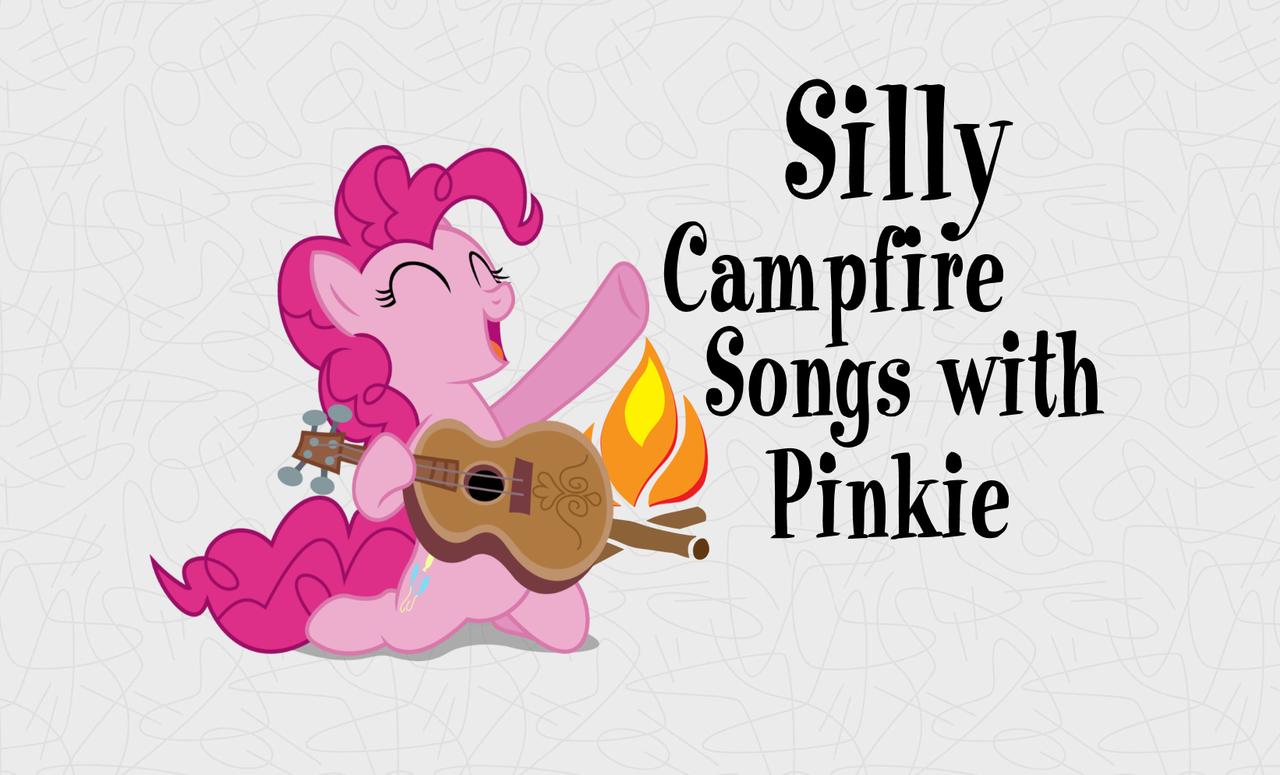 1687175 - artist needed, campfire, edit, guitar, happy, pinkie pie