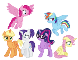 Size: 2284x1746 | Tagged: alicorn, alicornified, alicorn six, alternate hairstyle, applecorn, applejack, artist:flipwix, braid, equestria girls, equestria girls ponified, female, fluttercorn, fluttershy, glasses, humane five, humane six, mane six, mane six alicorns, mare, pinkiecorn, pinkie pie, ponified, pony, ponytail, race swap, rainbowcorn, rainbow dash, raricorn, rarity, safe, sci-twi, scitwilicorn, short hair, short mane, simple background, tail bun, transparent background, twilight sparkle, xk-class end-of-the-world scenario