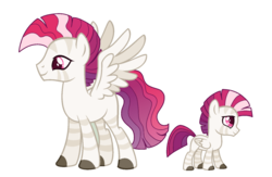 Size: 1024x668 | Tagged: safe, artist:guzzlord, oc, oc only, oc:solaris, hybrid, zebra, zebrasus, zony, interspecies offspring, magical lesbian spawn, male, next generation, offspring, parent:princess celestia, parent:zecora, parents:zelestia, simple background, solo, spread wings, stallion, transparent background, wings, zebra oc