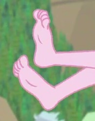 Size: 282x361 | Tagged: safe, screencap, pinkie pie, equestria girls, equestria girls series, friendship math, barefoot, feet, legs, pictures of legs, solo