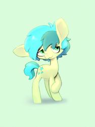 Size: 2022x2694   Tagged: safe, artist:swerve-art, sandbar, earth pony, pony, school daze, cute, cutie mark, male, sandabetes, solo, teenager