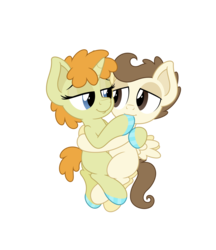 Size: 4331x5006 | Tagged: safe, anonymous artist, pound cake, pumpkin cake, pegasus, pony, unicorn, absurd resolution, babycon, brother and sister, cakecest, colt, cuddling, female, fetish, filly, foal, foalcon, hoof fetish, hoof polish, hoof sucking, hug, incest, male, nail polish, shipping, simple background, straight, transparent background