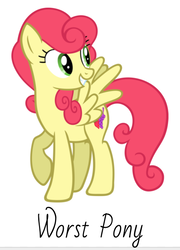 Size: 471x654 | Tagged: safe, artist:moongazeponies, artist:nltlf, edit, strawberry sunrise, pegasus, pony, female, mare, simple background, vector, white background, worst pony