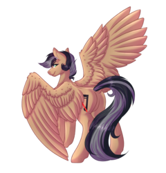 Size: 5000x5200 | Tagged: safe, artist:amazing-artsong, oc, oc only, oc:artsong, pegasus, pony, absurd resolution, female, mare, simple background, solo, transparent background