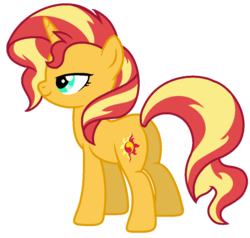 Size: 968x920 | Tagged: artist:serviner-tama, equestria girls series, female, forgotten friendship, mare, plot, pony, safe, simple background, solo, sunset shimmer, transparent background, unicorn, vector