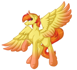 Size: 4611x4162 | Tagged: absurd res, artist:amazing-artsong, commission, female, mare, oc, oc only, oc:royal pain, pegasus, pony, safe, simple background, smiling, solo, transparent background