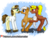Size: 1024x782 | Tagged: safe, artist:spokenmind93, oc, oc:calpain, oc:sheila, oc:tinker, earth pony, pony, succubus, blushing, boop, female, female on male, goggles, male, patreon, patreon logo, patreon reward, pushing, safety goggles, shy, simple background, straight, transparent background, watermark