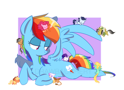 Size: 2629x1910 | Tagged: appledash, applejack, artist:drawbauchery, climbing, cowboy hat, cute, daringdash, daring do, earth pony, female, flying, gilda, gildash, griffon, hat, interspecies, lesbian, lidded eyes, male, mare, micro, pegasus, pinkiedash, pinkie pie, pony, prone, quibbledash, quibble pants, rainbow dash, raridash, rarity, safe, shipping, soarin', soarindash, stallion, straight, unicorn, zephdash, zephyr breeze