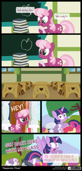 Size: 780x1620 | Tagged: alicorn, apple bloom, artist:dm29, book, chalkboard, cheerilee, comic, cutie mark crusaders, diamond tiara, earth pony, first base, marks for effort, pegasus, pony, ponyville schoolhouse, rumble, safe, school desk, scootaloo, silver spoon, spoiler:s08e12, sweetie belle, teacher, twilight sparkle, twilight sparkle (alicorn), unicorn