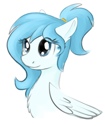 Size: 587x706 | Tagged: safe, artist:stormer, oc, oc only, pegasus, pony, female, mare, simple background, solo, white background