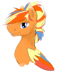 Size: 1007x1301 | Tagged: safe, artist:stormer, oc, oc only, pegasus, pony, simple background, white background