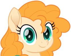 Size: 1016x796 | Tagged: artist:peahead, bust, cute, dawwww, earth pony, female, hnnng, mare, movie accurate, my little pony: the movie, pearabetes, pear butter, pony, portrait, safe, simple background, smiling, solo, transparent background, vector