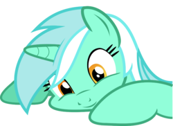 Size: 1024x746   Tagged: artist needed, source needed, safe, lyra heartstrings, pony, unicorn, boutique depression, bust, female, mare, simple background, solo, transparent background