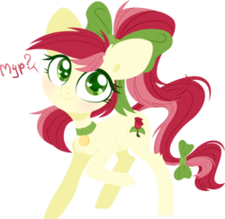 Size: 4000x3897 | Tagged: safe, artist:belka-sempai, roseluck, earth pony, pony, :t, alternate hairstyle, behaving like a cat, bow, chest fluff, collar, colored pupils, commissioner:doom9454, cute, cutie mark, cyrillic, digital art, ear fluff, female, fluffy, hair bow, head tilt, heart, heart eyes, hooves, leg fluff, lineless, looking at you, mare, pet tag, pony pet, ponytail, purring, question mark, raised hoof, rosepet, russian, simple background, smiling, solo, tail bow, text, translated in the description, transparent background, wingding eyes