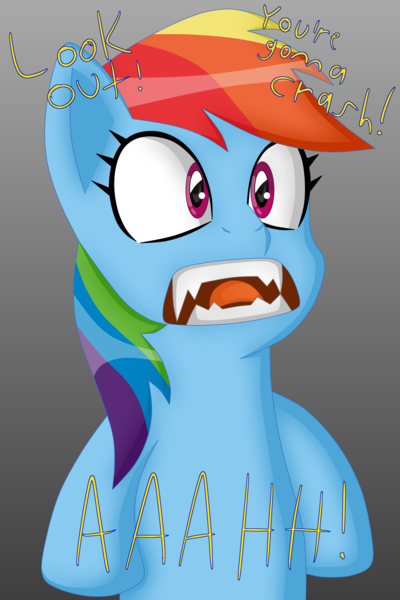 1710737 Artist Sergeant16bit Crossover Dreamcast Face Gradient Background Rainbow Dash Reference Safe Sharp Teeth Solo Sonic Adventure Sonic The Hedgehog Series Speech Teeth Text Derpibooru