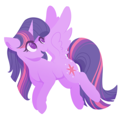 Size: 1077x1038 | Tagged: alicorn, artist:uunicornicc, cutie mark, female, flying, mare, open mouth, pony, safe, simple background, smiling, solo, spread wings, transparent background, twilight sparkle, twilight sparkle (alicorn), wings