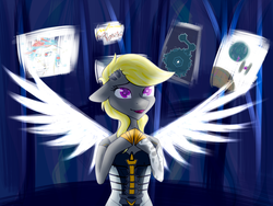 Size: 1600x1200 | Tagged: artist needed, borderlands 2, oc, oc only, oc:storm shield, pegasus, pony, safe, siren, solo