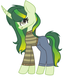 Size: 1120x1344 | Tagged: artist:skajra001, clothes, cute, magical lesbian spawn, pants, pony, safe, shirt, unicorn, wallset