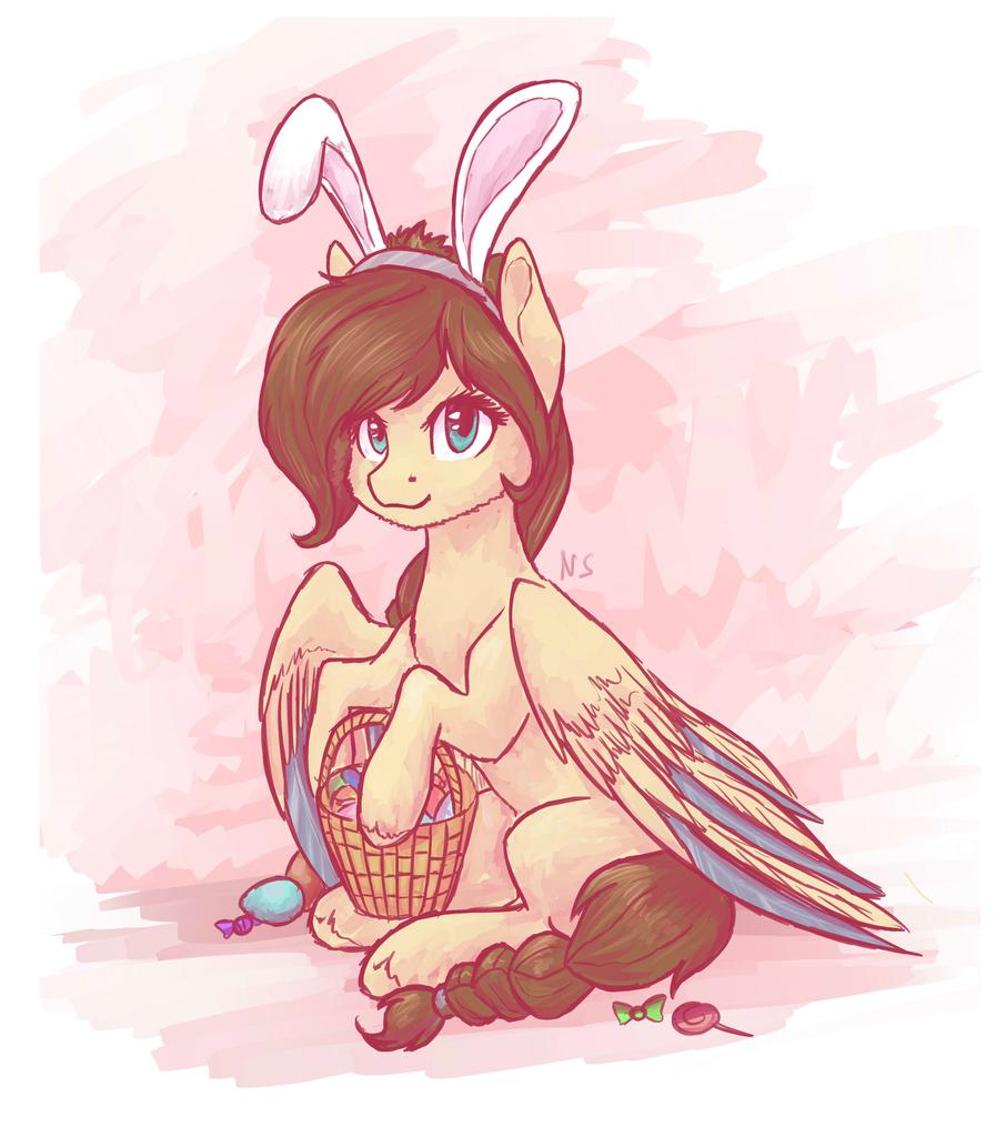 1712939 Artist Nightskrill Basket Braided Tail Bunny Ears