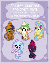 Size: 1024x1312 | Tagged: safe, artist:kellythedrawinguni, capper dapperpaws, captain celaeno, princess skystar, silverstream, tempest shadow, classical hippogriff, hippogriff, my little pony: the movie, school daze, advertisement, capperbetes, celaenobetes, cute, diastreamies, skyabetes, tempestbetes