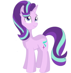 Size: 990x1011 | Tagged: artist:serviner-tama, pony, safe, simple background, solo, starlight glimmer, transparent background, unicorn