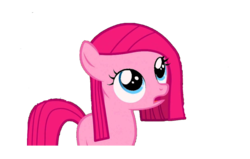 Size: 1212x770 | Tagged: artist:adri-dragon, cute, female, filly, filly pinkie pie, lunapic, my little pony, pinkamena diane pie, pinkie pie, safe, simple background, straight hair, transparent background, vector, younger