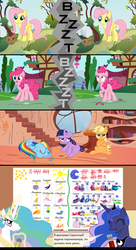 Size: 1200x2208 | Tagged: applejack, artist:beavernator, cyrillic, fluttershy, golden oaks library, pinkie pie, princess celestia, princess luna, rainbow dash, russian, safe, translation, twilight sparkle