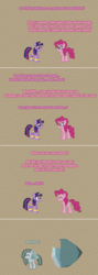 Size: 504x1412 | Tagged: alicorn, artist:verve, ask genie twilight, broken, comic, earth pony, female, genie, marble pie, mare, pinkie pie, pixel art, pony, safe, the maud couple, tom, twilight sparkle, twilight sparkle (alicorn)