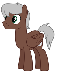 Size: 2500x3000 | Tagged: safe, artist:besttubahorse, oc, oc only, oc:dark roast, pegasus, pony, .svg available, high res, male, simple background, solo, stallion, svg, transparent background, vector