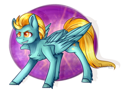 Size: 2373x1787 | Tagged: artist:jazzerix, lightning dust, pegasus, pony, safe, simple background, smiling, solo, transparent background