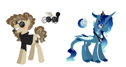 Size: 1076x572 | Tagged: safe, artist:6-fingers-lover, oc, oc only, oc:black humor, oc:neon light, dracony, earth pony, hybrid, pony, clothes, interspecies offspring, magical gay spawn, male, offspring, parent:cheese sandwich, parent:mud briar, parent:princess luna, parent:spike, parents:cheesebriar, parents:spiluna, pipe, simple background, stallion, sunglasses, sweater, transparent background, turtleneck