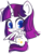 Size: 526x701 | Tagged: safe, artist:riouku, oc, oc only, oc:twily star, alicorn, alicorn oc, blushing, simple background, solo, transparent background