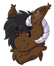 Size: 4340x5277 | Tagged: safe, artist:fizzykinsart, oc, oc only, oc:onyx quill, dracony, hybrid, kirin, absurd resolution, chibi, fluffy, heart eyes, horns, simple background, solo, transparent background, wingding eyes
