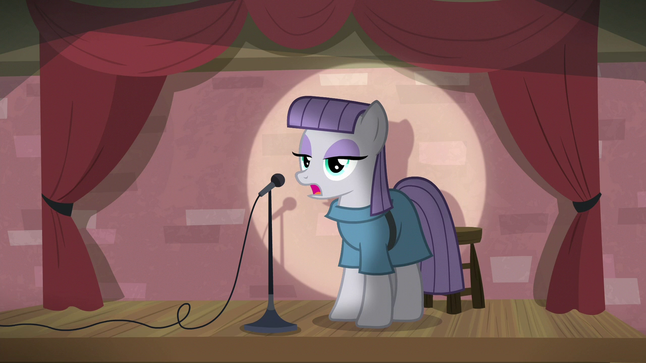 1702143 - earth pony, female, mare, maud pie, microphone, pony ...