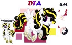 Size: 1600x1006 | Tagged: safe, artist:posey-11, oc, oc:blossom, pegasus, pony, female, mare, reference sheet, simple background, solo, transparent background