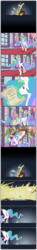 Size: 1154x7809 | Tagged: safe, artist:grievousfan, discord, princess celestia, spike, alicorn, draconequus, dragon, pony, angry, blast, blue fire, cake, celestia is not amused, comic, dialogue, discord being discord, eating, english, female, fire, fire breath, food, frightened, frown, gem, glare, glow, glowing horn, hilarious in hindsight, letter, levitation, long legs, magic, magic blast, mail, male, mare, onomatopoeia, prank, reading, roasted, roasting, sending, sending a letter, shocked, spank mark, spanking, spread wings, startled, surprised, telekinesis, this already ended in pain, this will end in a trip to the moon, this will end in petrification, trio, unamused, wait a second, wha-pish, whipping, wings, worth it