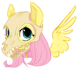 Size: 423x378 | Tagged: artist needed, artist:php27, badass, bust, female, flutterbadass, fluttershy, looking at you, mare, pegasus, pony, safe, simple background, skull, skull mask, solo, source needed, spread wings, transparent background, wings