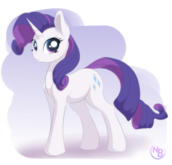 Size: 2300x2206 | Tagged: safe, artist:nevobaster, rarity, pony, unicorn, abstract background, cute, female, looking at you, makeup, mare, raribetes, smiling, solo, story included