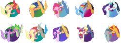 Size: 1024x365 | Tagged: safe, artist:leanne264, applejack, big macintosh, caramel, discord, flash sentry, fluttershy, marble pie, moondancer, pinkie pie, pokey pierce, quibble pants, rainbow dash, spike, star tracker, starlight glimmer, sunburst, twilight sparkle, alicorn, earth pony, pegasus, pony, unicorn, blush sticker, blushing, crack shipping, discoshy, female, flashjack, floating wings, fluttermac, fluttershy gets all the stallions, male, moontracker, pokeypie, quibbledash, rarararara, shipping, simple background, straight, transparent background, twilight sparkle (alicorn), twispike