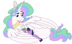 Size: 1392x858 | Tagged: artist:cherrelann, baby, baby spike, behaving like a bird, cute, description is relevant, dragon, drawthread, female, filly, filly twilight sparkle, male, momlestia, ponified animal photo, princess celestia, request, safe, signature, simple background, sleeping, snuggling, spike, spikelove, transparent background, trio, twilight sparkle, unicorn, unicorn twilight, weapons-grade cute, younger